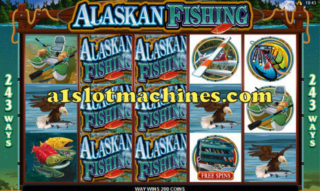 Alaskan Fishing Online Slots Game