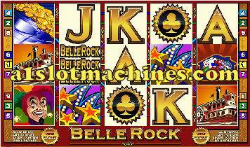 Belle Rock Showboat Slot Machine - Free Games