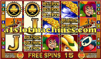 Belle Rock Casino Boat Video Slots - Free Spins Bonus