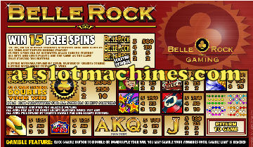 Slot Machine - Belle Rock Casino Bonus Slots