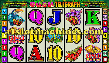 Bush Telegraph Slot Machine  - Free Games Feature