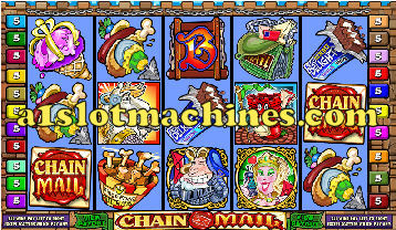 Chain Mail Bonus Slot Machine Game