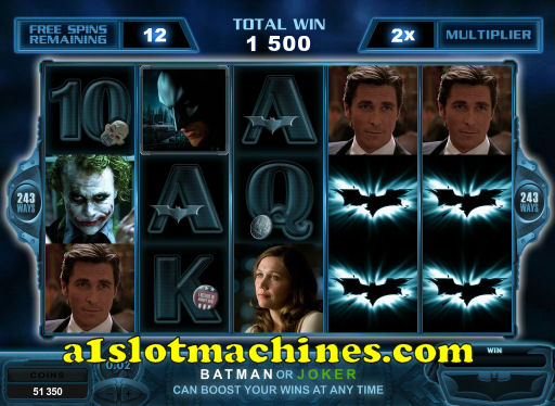 The Dark Knight Free Spins Feature
