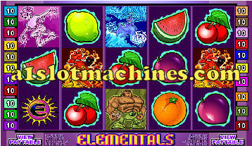 Elementals Slot Machine  - Free Games Feature