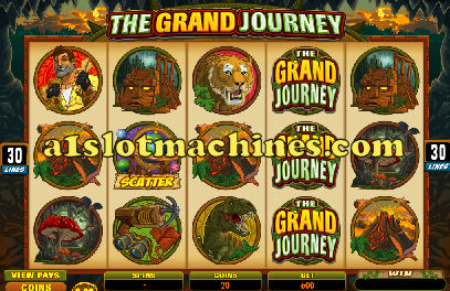 The Grand Journey Online Slot Machine