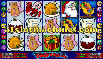 Ho Ho Ho Christmas Slot Machine  - Free Games Feature