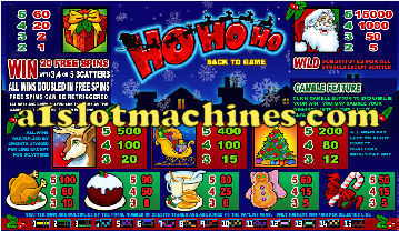 Slot Machine - Ho Ho Ho Christmas