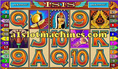 Egyptian Isis Slot Machine