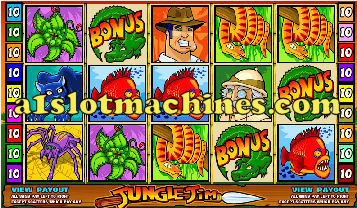 Jungle Jim Slot Machine  - Free Games Feature