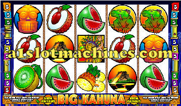 Big Kahuna Slot Machine - Free Games
