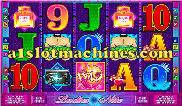 Ladies Night Slot Machine - Respin Feature