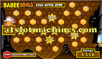 Bonus Feature - Bumbleebee Slots