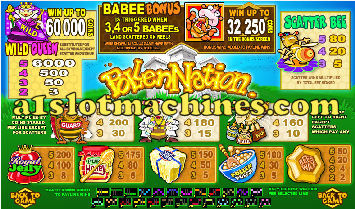Pollen Nation Slot Machine Pays
