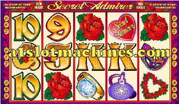 Secret Admirer Slot Machine - Respin Feature