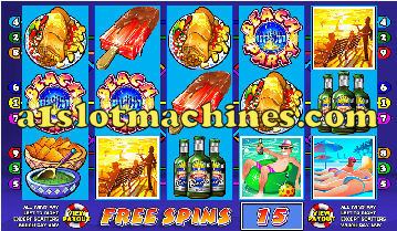 Spring Break Video Slots - Bonus Free Spins