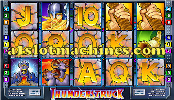 Thunderstruck Slot Machine