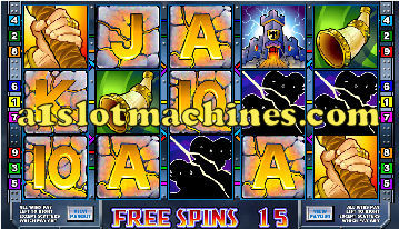 Thunderstruck Video Slots - Bonus Free Spins
