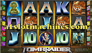 Tomb Raider Slot Machine  - Bonus Feature and Free Games