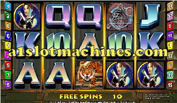 Tomb Raider Video Slots - Bonus Feature