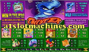 lucky 88 slot machine pay table