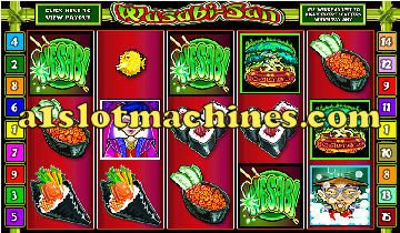 Wasabi San Video Slots - Free Spins Bonus