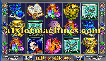 Witches Wealth 9 Line Slot Machine