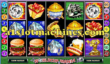 World Cup Mania Slots - Bonus Free Spins