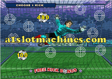 Slot Machine - World Cup Mania