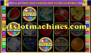 Bonus Feature - Wheel of Wealth Slot Machine