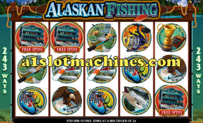 Alaskan Fishing Free Spins Bonus