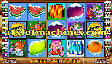Free Spin Feature - Cabin Fever Slots