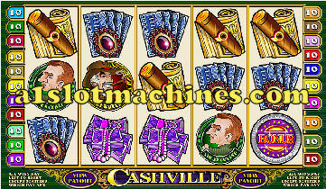 Click to Download the Software and Play Cashville Bonus Slot Machine