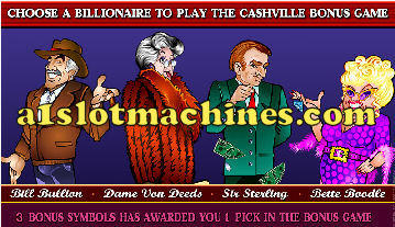 Click Here to Play Cashville Bonus Slots