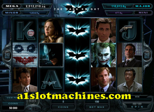 The Dark Knight Slot Machine Preview