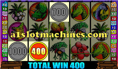 Slot Machine - Dino Might