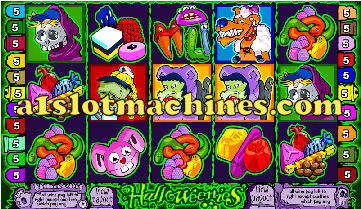 Halloweenies Slot Machine  - Free Games and Bonus Features