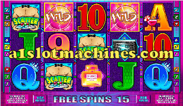 Ladies Night Video Slots - Bonus Respins
