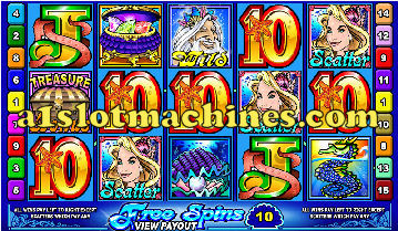 Mermaids Millions Video Slots - Bonus Free Spins