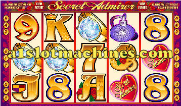 Secret Admirer Video Slots - Bonus Respins
