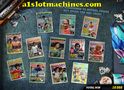 Shoot! Slot Machine Magazine Bonus
