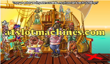 Pirate Theme Video Slots - Bonus Game