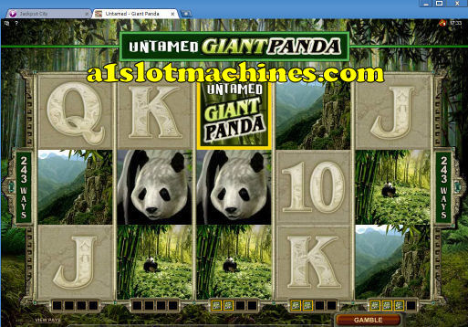 Click here to download Untamed Giant Panda Slot Machine