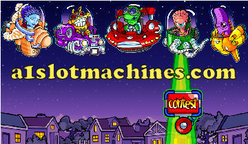 Slot Machine - UFO Bonus Slots