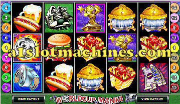 World Cup Slot Machine  - Free Games Feature