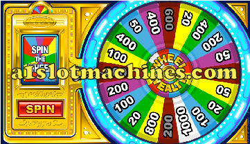 Wheel of Wealth Online Slot Machine